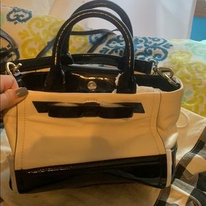 Brand new Kate Spade black and white purse